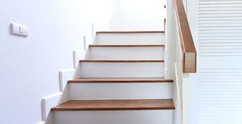 Treppenverlegung