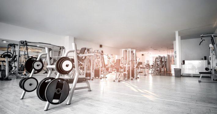 Objektbeläge Fitnesstudio